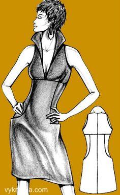 Building an American dress pattern Diy Clothing, Sewing Clothes, Clothing Patterns, Sewing Patterns, Sewing Hacks, Sewing Tutorials, Pattern Cutting, Pattern Making, Dress Making Patterns