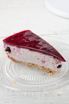 nl - Serve forest fruit cheesecake at the funeral, because the deceased loved it look for more inspirati - Fruit Cheesecake, Cheesecake Recipes, Dessert Recipes, Cheesecakes, Sweets Cake, Baking Cupcakes, Piece Of Cakes, Food Cakes, Yummy Cakes