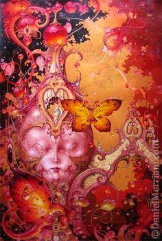 """Perchance to Dream"" ~ Daniel Merriam ~ Watercolorist Extraordinaire ~ Miks' Pics ""Daniel Merriam ll"" board @ http://www.pinterest.com/msmgish/daniel-merriam-ll/"