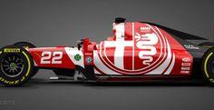 Η Alfa Romeo επιστρέφει στην Formula 1! Alfa Bertone, Alfa Alfa, Alfa Romeo Logo, Alfa Romeo Cars, Formula 1, Electric Car Conversion, Electric Vehicle, Bmw Performance, Driving School