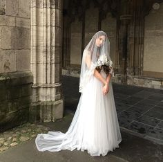 Backstage from our new collection #weddings #bride #utrecht #veil