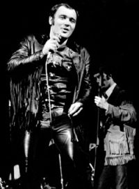 David Clayton Thomas 1941 - singer best known as the lead vocalist; Blood, Sweat & Tears. Clayton-Thomas has also maintained a busy solo career over the years as well.