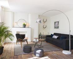 À Caen, Chez Laurence du Tilly un ancien hôtel particulier est devenu un concept d'appartement d'hôte élégant et convivial.