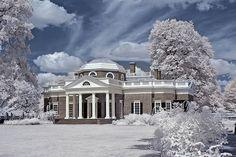 Monticello Monticello Thomas Jefferson, Thomas Jefferson Home, Southern Plantations, Picture Places, Plantation Homes, Charlottesville, Historical Architecture, Grey Walls, Historic Homes