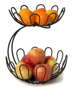 Look what I found on #zulily! Bloom Arched Two-Tier Fruit Server by Spectrum Diversified Designs, Inc. #zulilyfinds