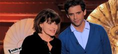 Mika and Fanny Ardant
