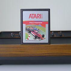 "1980s Atari Game, ""Pole Position""."