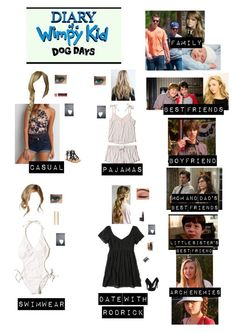 """Me in ""Diary of a Wimpy Kid: Dog Days"" (Read the d!)"" by nerdbucket ❤ liked on Polyvore featuring Dove, Hollister Co., Body Bauble, Maybelline, American Eagle Outfitters, Cirque Colors, BKE, Mystique, Michael Antonio and Luminess Air"