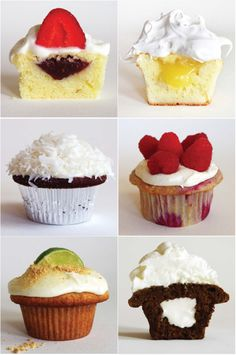 33 of the best cupcake recipes you will ever find (cupcakes for dessert, since Thao loves cupcakes! Just Desserts, Delicious Desserts, Yummy Food, Delicious Cupcakes, Baking Desserts, Baking Recipes, Food Cakes, Think Food, Love Food