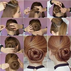 How to DIY Elegant Twisted Hair Bun Hairstyle | iCreativeIdeas.com Like Us on Facebook == https://www.facebook.com/icreativeideas