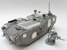 Iron Guard Allies: Mechanicus Chimera Conversion, Warhammer 40k