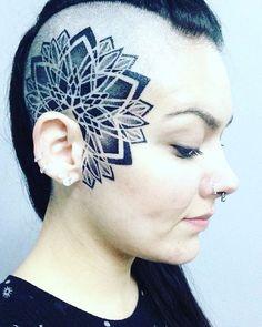 Photo by (terrescarol) on Instagram |  #facetattoo, #blackworkers, #blacktattooart, #blackworkerssubimission, #darkartists, #tattooartwork, #tattoocollection, #moderntattooing, #contemporarytattooing, #tattoo_art, #tattoodo, #tattoo2me, #topclasstattooing, #tttism, #blxckink, #btattooing, #pontilismo, #pontilhismotattoo, #mandalatattoo, #pontilismo, #onlyblackart, #blacktattooart, #picsartofinked