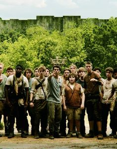 They're making a maze runner movie!!! :) eeek! :)