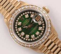 Used Rolex For Sale, Rolex Diamond Watch, Rolex Women, Rolex Models, Latest Watches, Stylish Watches, Luxury Watches, Gucci Watch, Expensive Watches