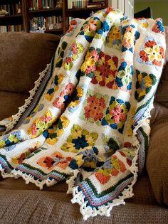 Summer in Sweden Crochet Afghan Pattern