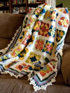 Summer in Sweden Crochet Afghan Pattern