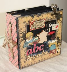 Vintage A-B-C Primer Album