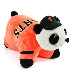 Cute pillow pet for the kids. Go Giants!