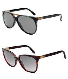 Eco eyewear by Gucci