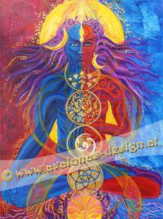 avalonas-shivshak Devine Feminine, Meditation, Foto Poster, Visionary Art, Colours, Prints, Painting, Fictional Characters, Illustrations