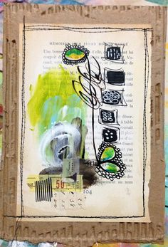 """""""Every Life Has a Story!"""" - {Roben-Marie Smith} - Abstract MiniPaintings..."""