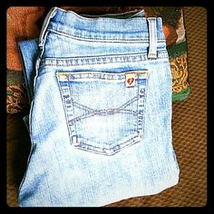 JUST REDUCED Juicy coutures size 27x33 Stretch boot. Euc Juicy Couture Jeans Boot Cut