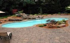 Image result for pavers around a pool