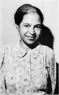 Rosa Parks:    ~  On December 1, 1955, in Montgomery, Alabama, Parks refused to obey bus driver James F. Blake's order that she give up her seat in the colored section to a white passenger, after the white section was filled.