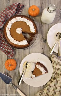 I've been making this easy pumpkin pie for years, at Thanksgiving and Christmas. It goes together so quickly and tastes so good!  #ad ouramericankitchen