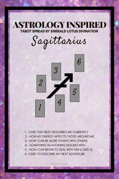 Sagittarius Tarot Spread (1)