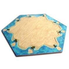 Settlers of Catan Wooden Playing Board, $44USD
