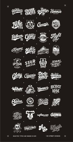 Perfect Examples of Typography Usage in Logo Design by Oleg Gontarev Typography Inspiration, Graphic Design Inspiration, Lettering Design, Branding Design, Gfx Design, Typographie Logo, Badge Design, Vintage Labels, Vintage Logos