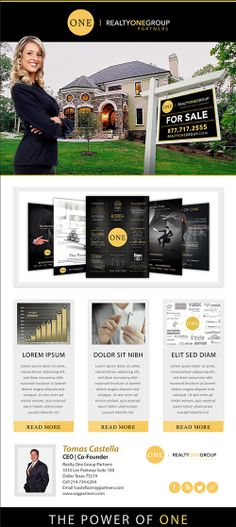 Real Estate Email Flyers | Recruiting Templates | Recruiting ...