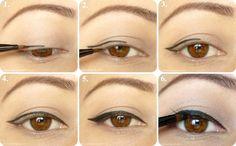 cats, tutorials, makeup tools, cat eyes, eye makeup tips, beauti, winged eyeliner, wedding makeup, eye liner