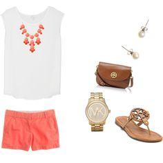 Coral bubble necklace