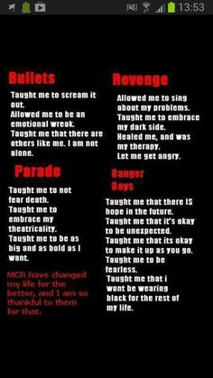 <3 Forever a killjoy! <3 MY Chemical Romance: