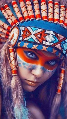 Indígena  loira