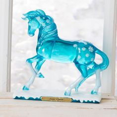 Snow Queen Painted Pony- Snow Queen from the Trail of Painted Ponies by Artist Veronica Ventress