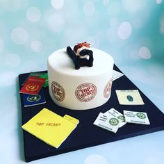 Spy kids cake