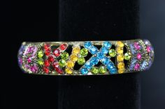 Beautiful Multi Colored Cuffed Bracelet. Only $24.99!!