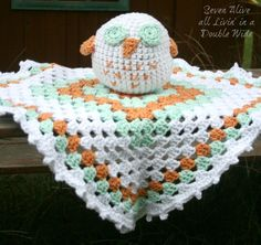 Seven Alive: Crocheted Owl Blanky ~ Pattern Revisit