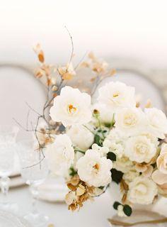 Romantic Neutral Colored Wedding Inspiration Shoot