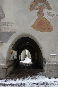 Durchgang-Rathaus Feldkirch, Austria, Heart, Image, Hearts