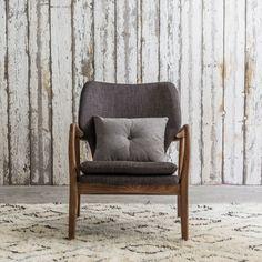 Odin Armchair In Two Tone Grey, Graham & Green  #homedecor #interiordesign #homeinterior #furniture #seating #design #furnituredesign #new #autumn #newcollection #autumncollection #grahamandgreen
