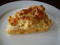 Maseca, cheese and rocoto quick bread.