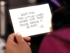 pretty little liars a messages | Image - As newest message.jpg - Pretty Little Liars Wiki