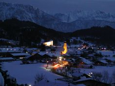 Tyrolean winter Alps, Mount Everest, Opera House, Mountains, Building, Winter, Nature, Travel, Winter Time