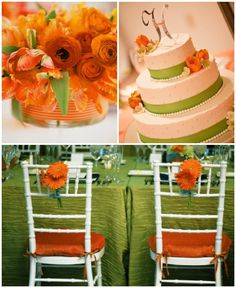 Tangerine Orange and Lime Green If i could re do my Wedding i would useLime Green  Orange  and White Wedding Inspiration Board   Wedding  . Orange And Lime Green Wedding Theme. Home Design Ideas