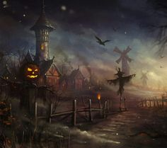 Charming Halloween Wallpaper.