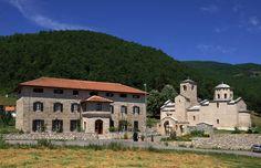 Đurđevi Stupovi-monastery near the town of Berane